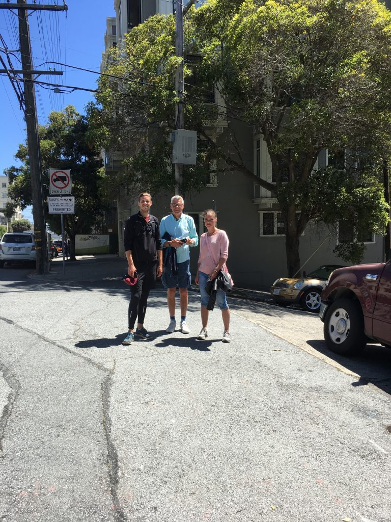 Trio in San Francisco