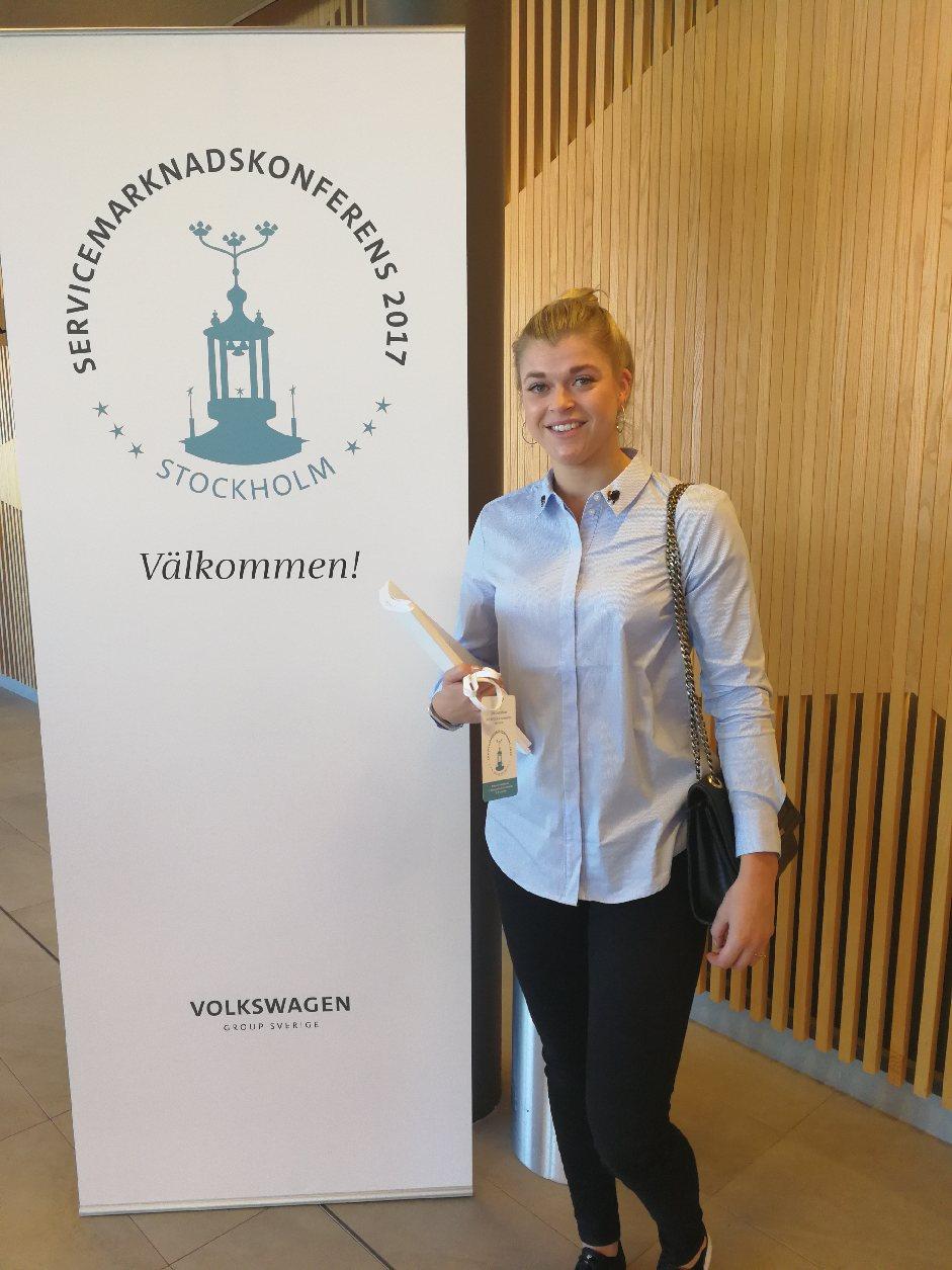 Linn Gustafsson Stockholm servicemarknadskonferans Volkswagen 2018