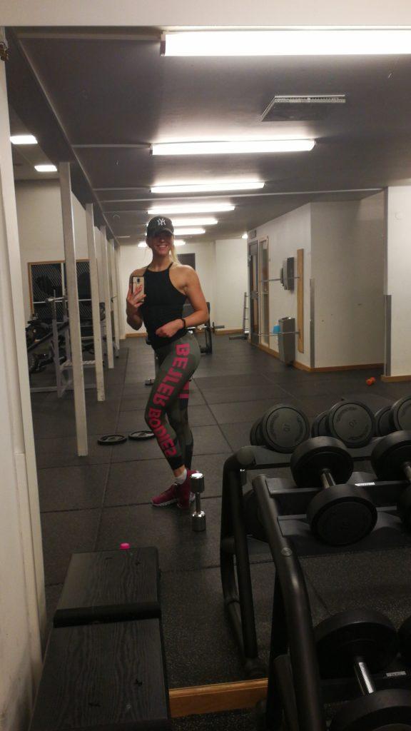 Linn Gustafsson Fitness Sweden