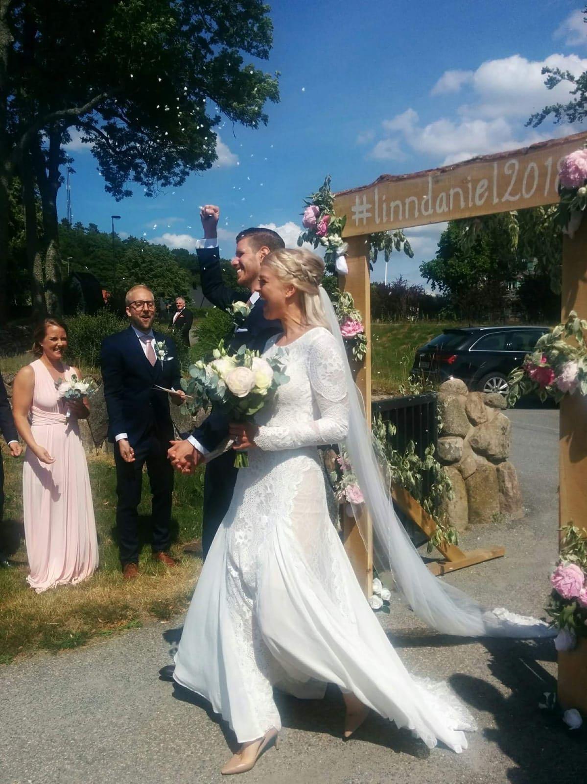 Linn Gustafsson wedding