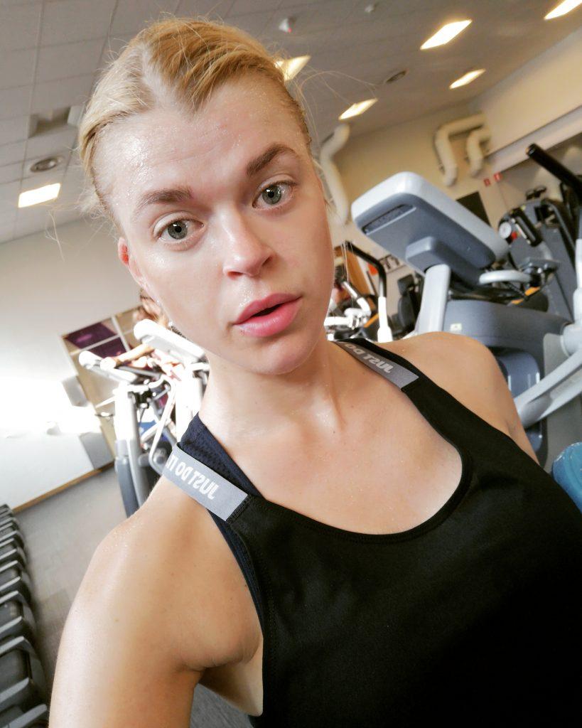 Linn Gustafsson Fitness goal