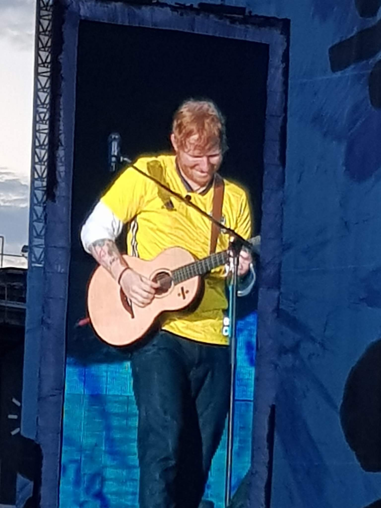 Linn Stenholm Ed Sheeran Gothenburg 2018