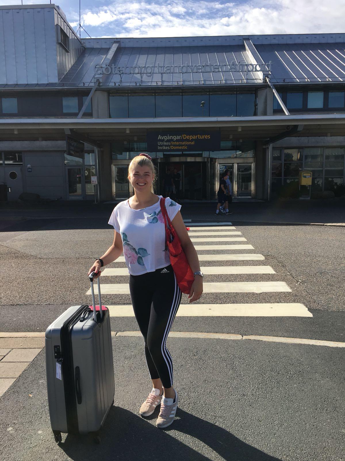 Linn Stenholm Fitness vacation Airpo0rt