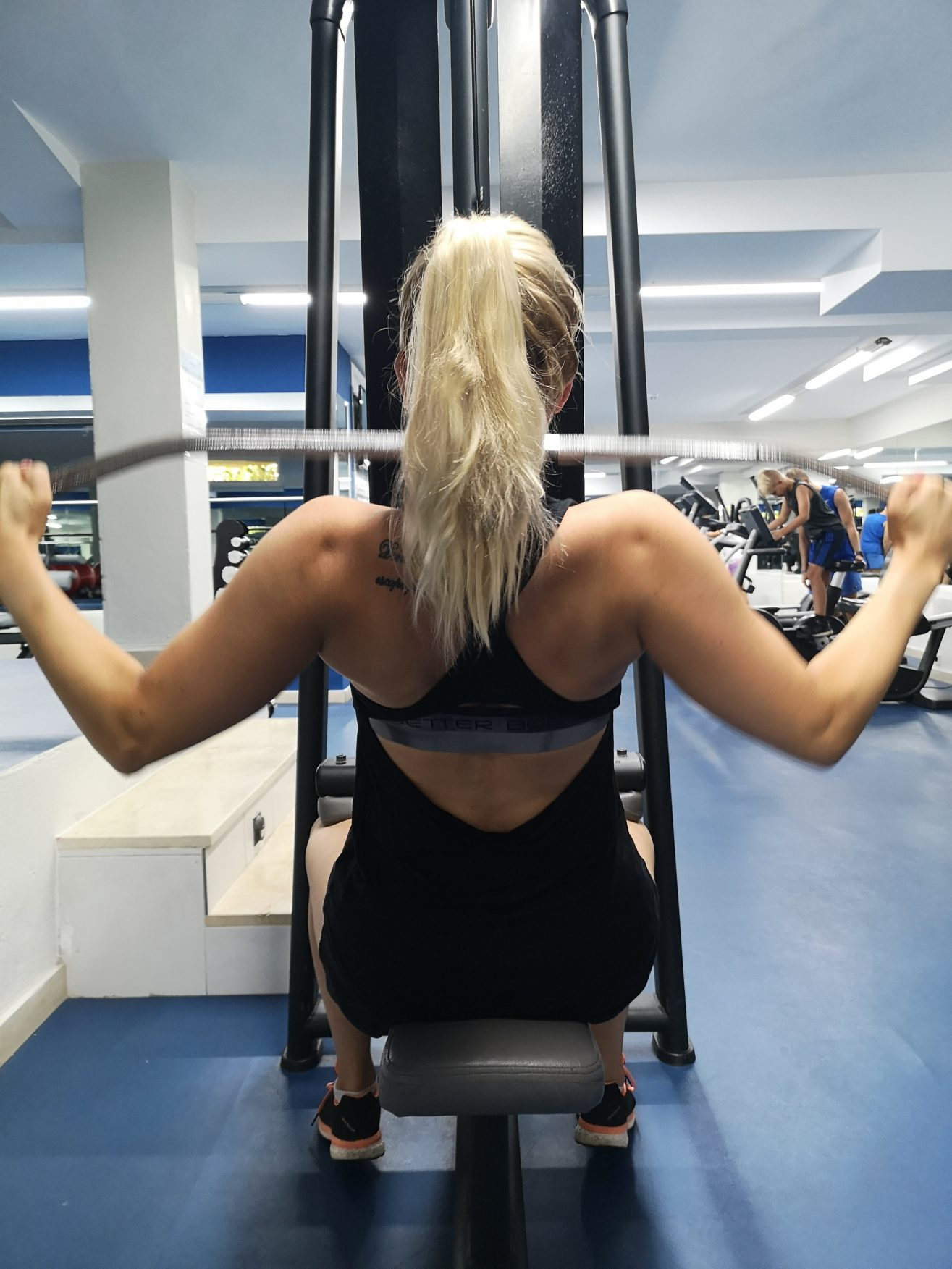 Linn Stenholm fitness vacation Mallorca