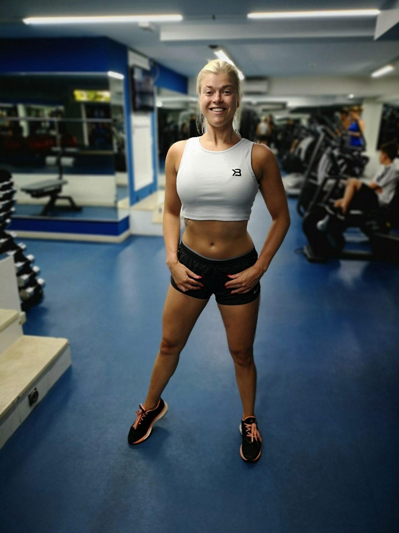 Linn Stenholm Fitness dietstart bikini fitness