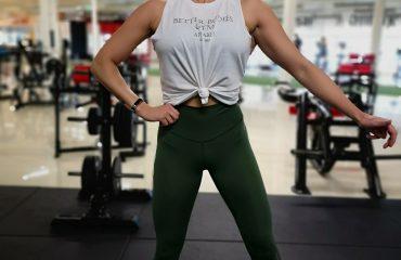 Linn Stenholm Fitness Bikini Fitness 7 weeks out