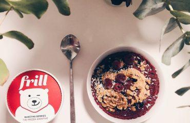 Frill the frozen smoothie Linn stenholm fitness