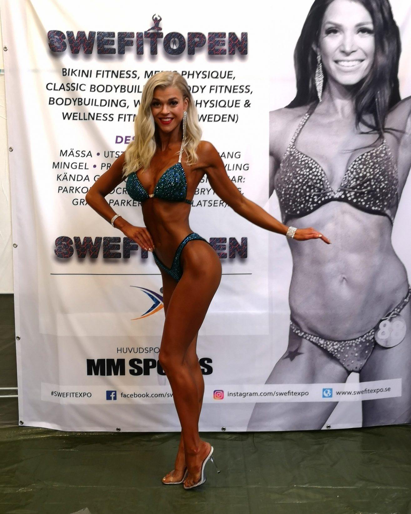 Linn Stenholm Bikinifitness Swefitopen 20181110