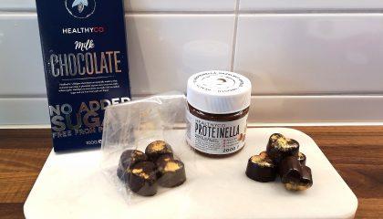 Linn Stenholm fitness healthy baking chocolate