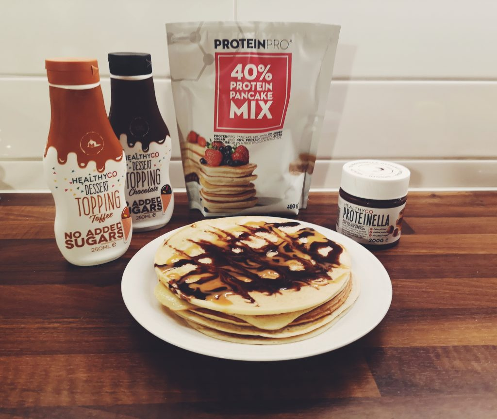 Linn Stenholm fitness healthyCo pancakes pancakemix