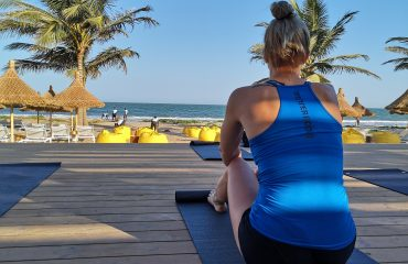 Linn Stenholm fitness workout vacation