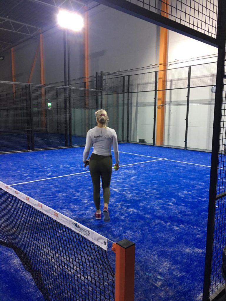 Linn Stenholm Fitness paddle tennis