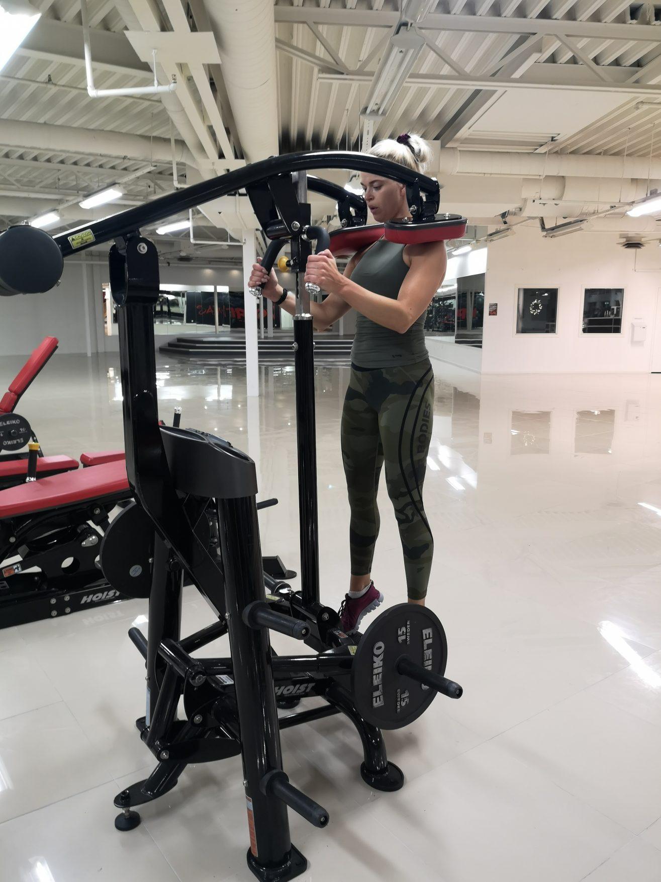 Linn Stenholm Fitness workout