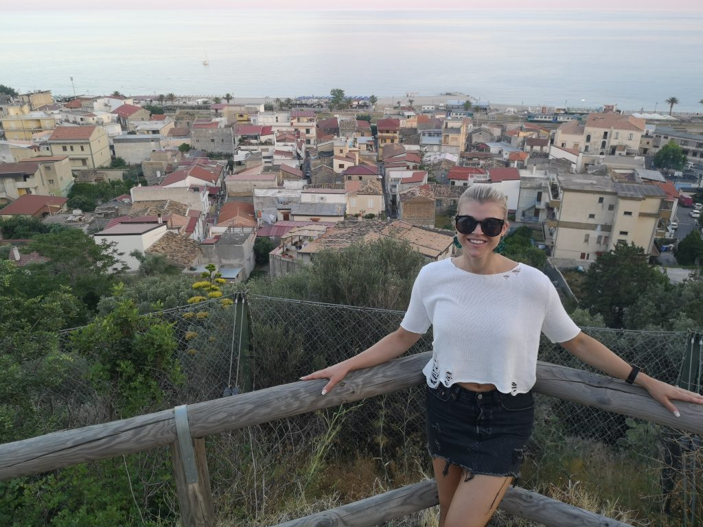 Linn Stenholm fintess vacation Italy