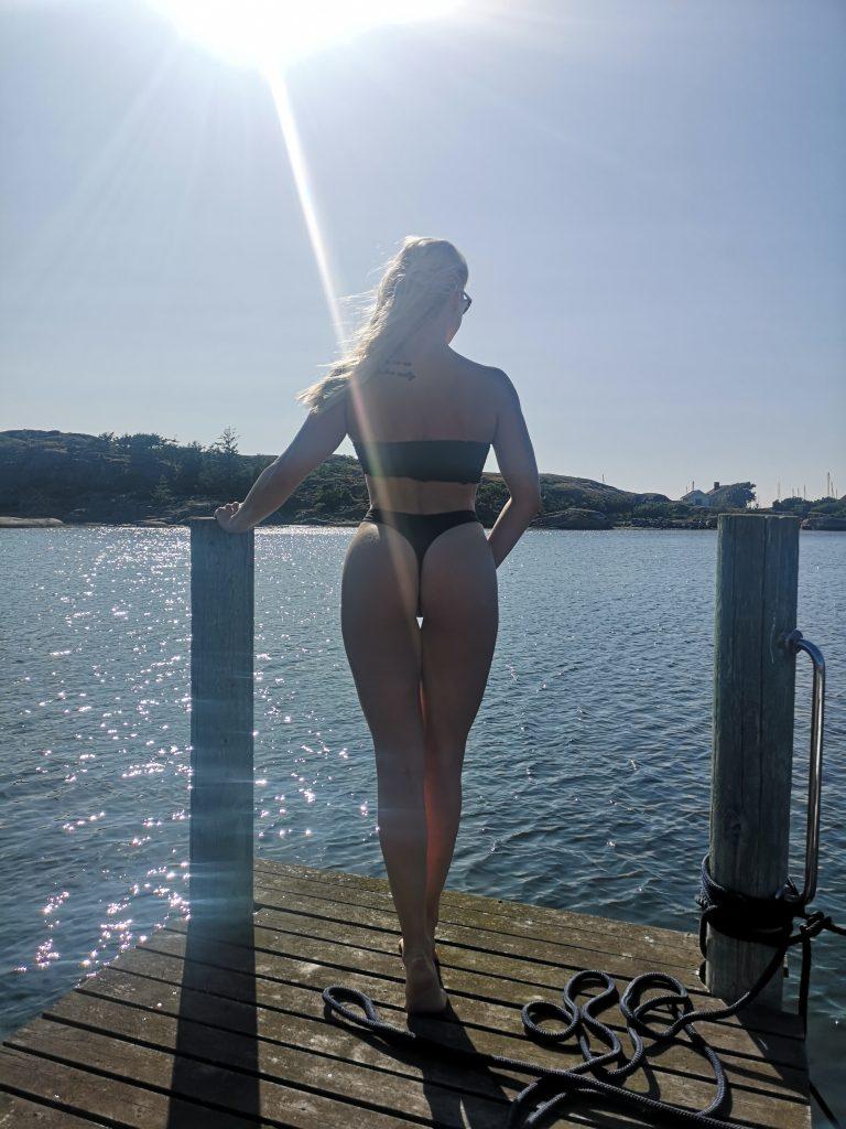 linn Stenholm Bikni fitness vacation Summer