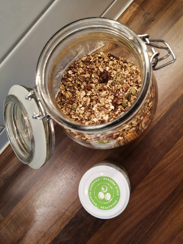 Home made granola Linn Stenholm Healthy