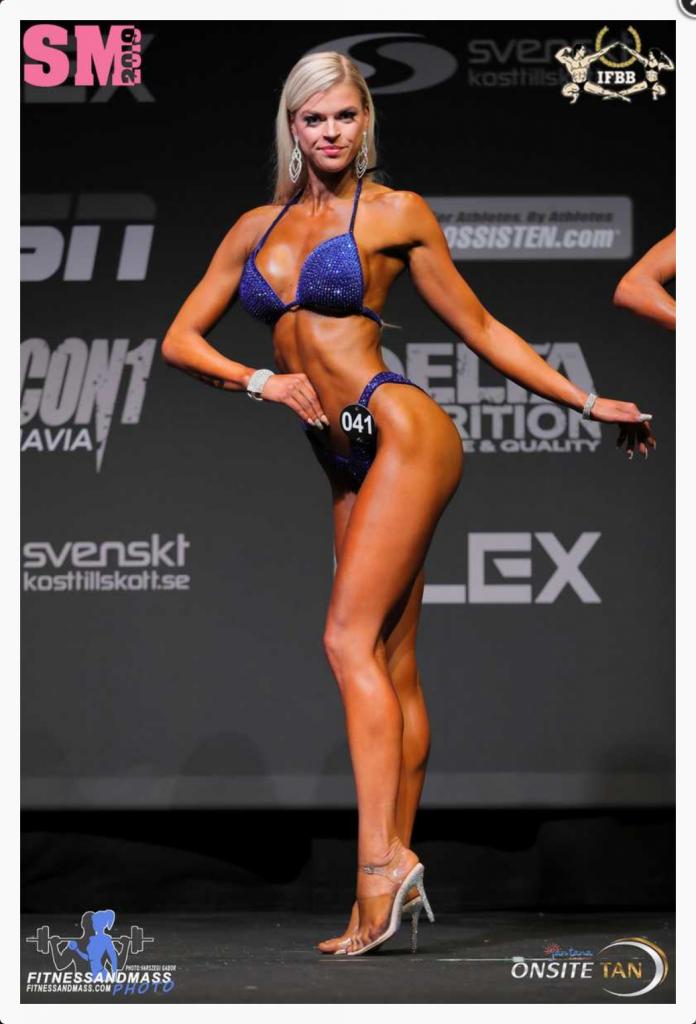 Linn Stenholm bikini fitness SM+169