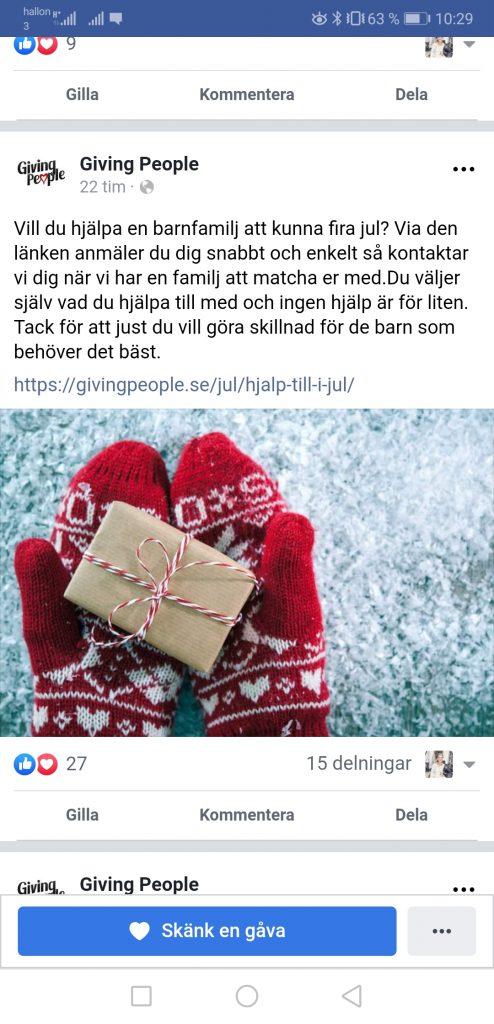 Linn Stenholm Giving people