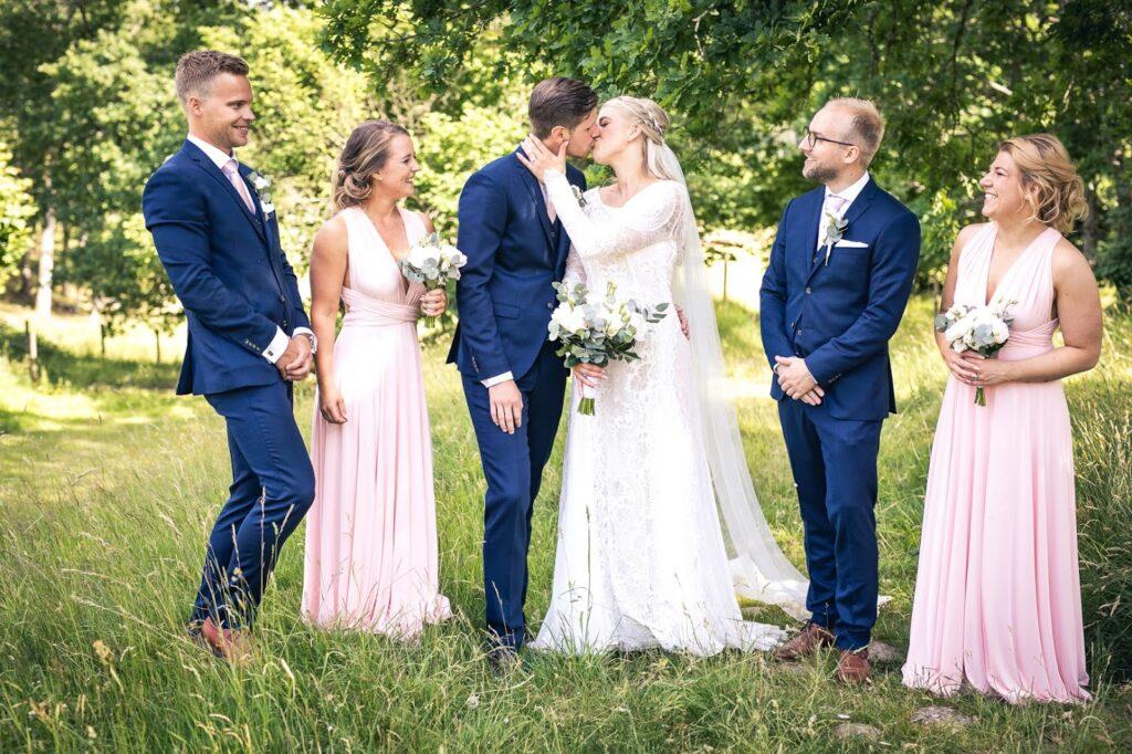 Linn & Daniel Stenholm Bröllop 2018