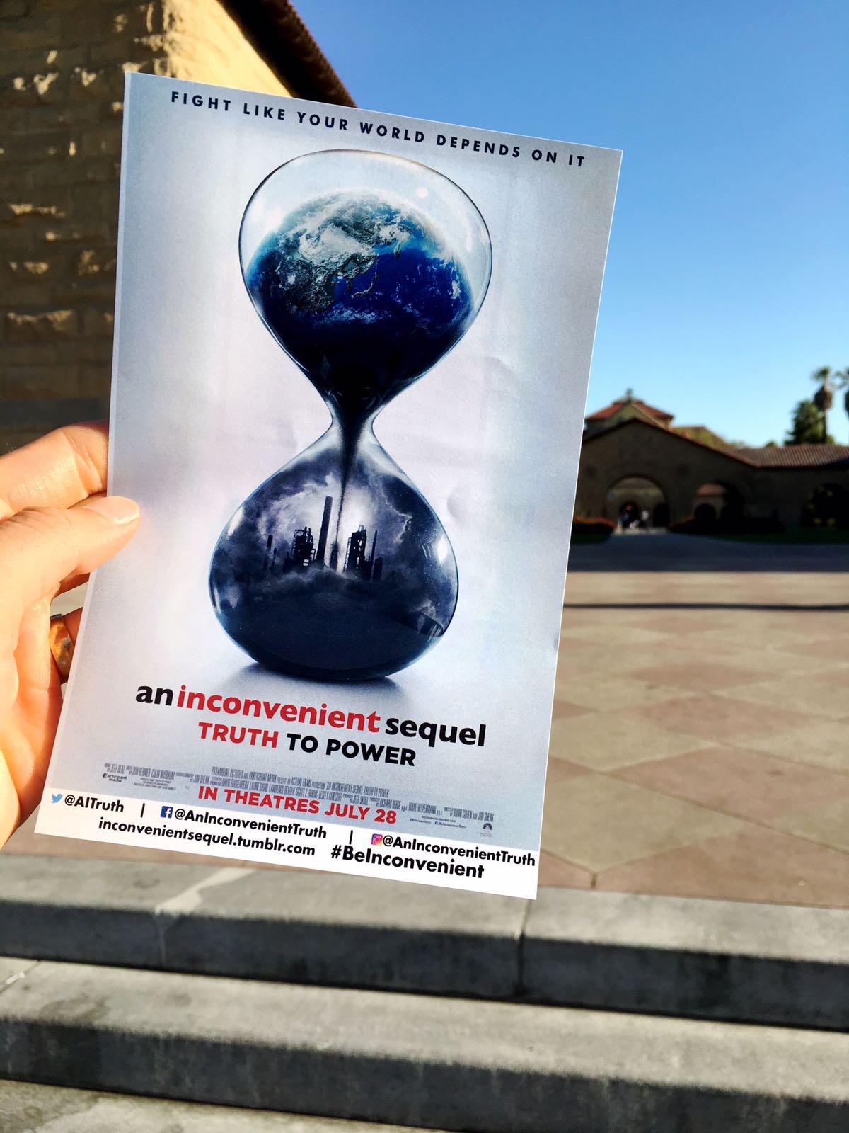 Linn Gustafsson San Francisco Stanford An inconvenientsequal - Truth to power with Al Gore