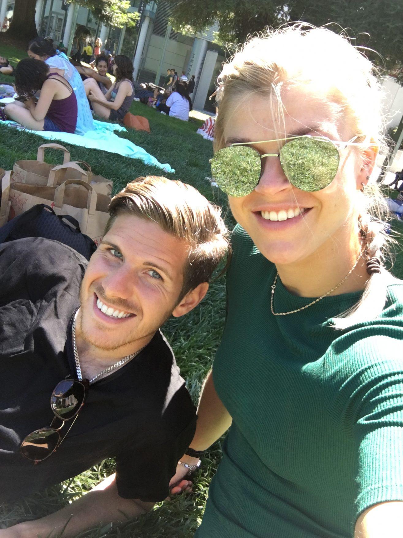 Linn Gustafsson San Francisco Yerba Buena Garden Festival