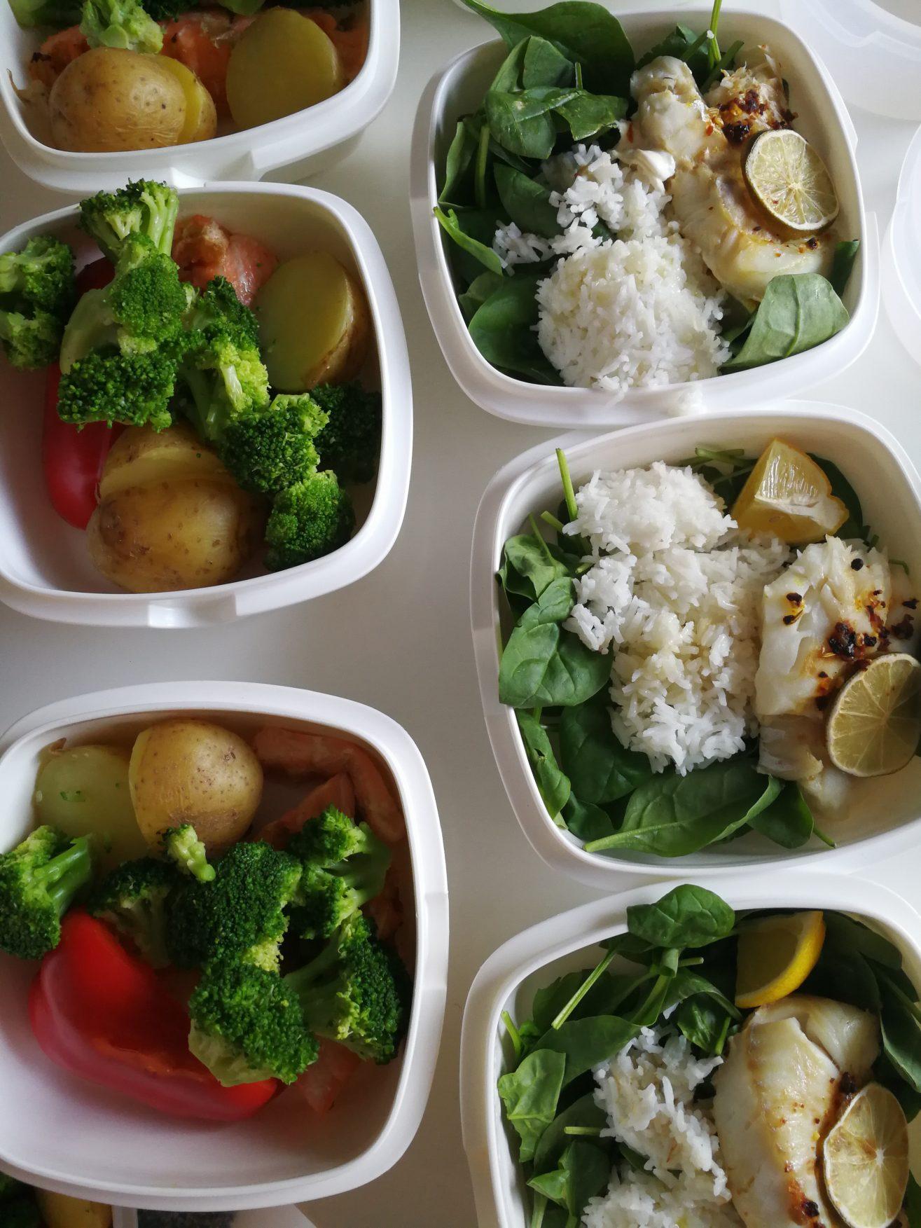 Linn Gustafsson Fitness food prep