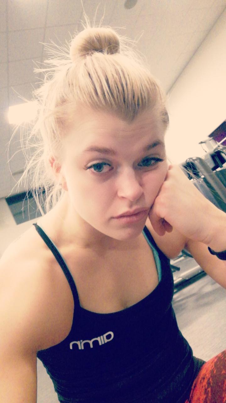 Linn Gustafsson Sverige Göteborg Fitness
