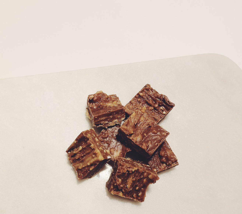Linn Stenholm peanut chocolate fudge fitness healthy