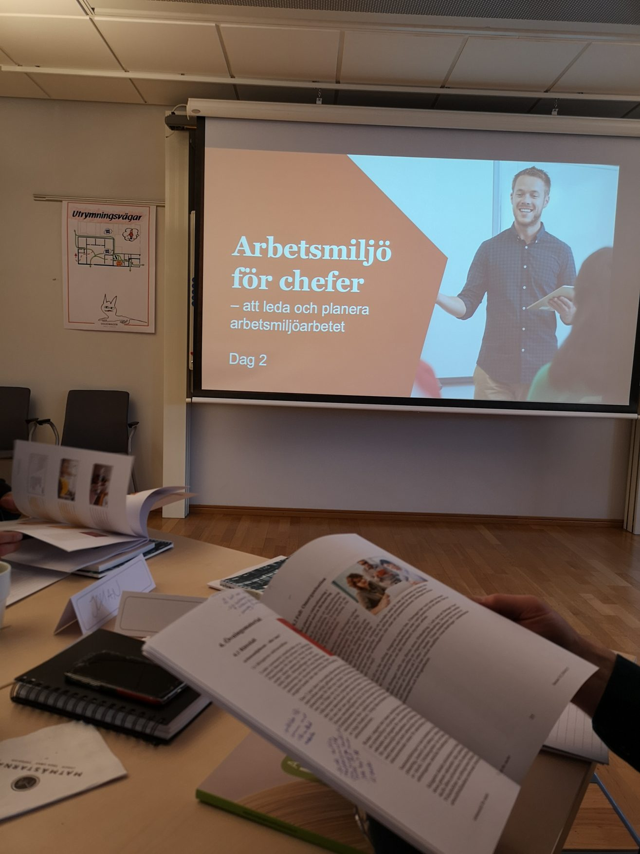 Linn Stenholm Volkswagen Training Academy