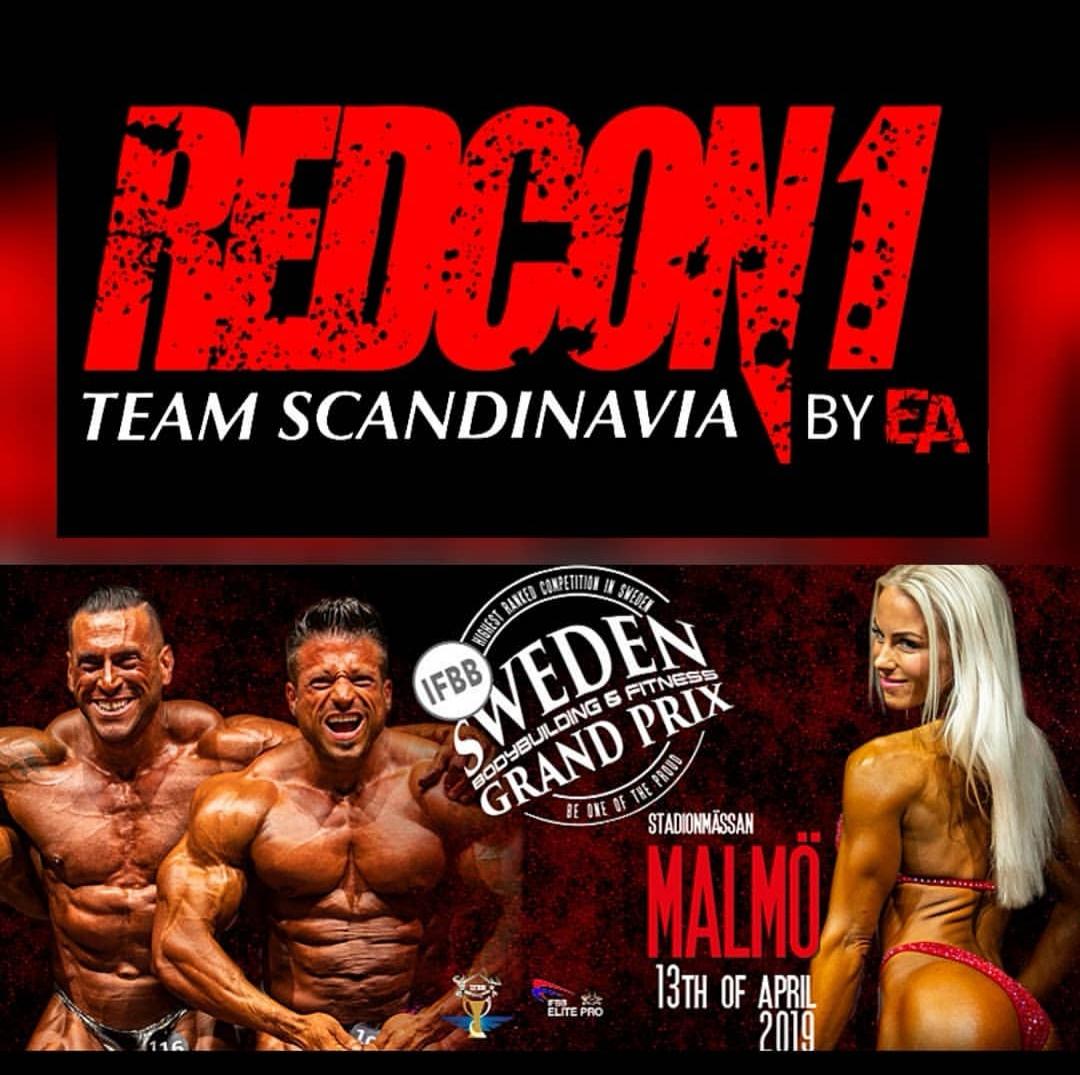Linn Stenholm fitness Redcon1Scandinavia Malmö Grand prix