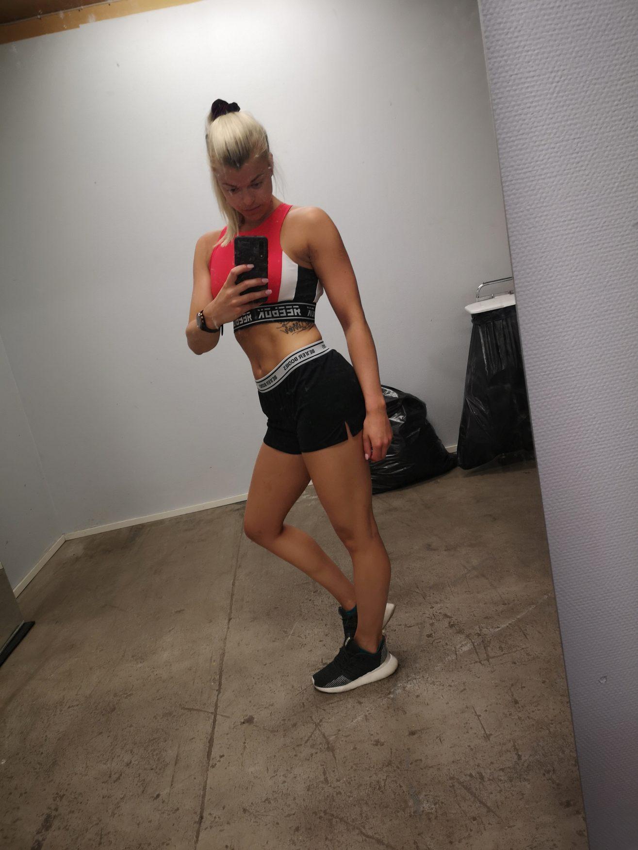 Linn Stenholm Fitness diet bikini fitness