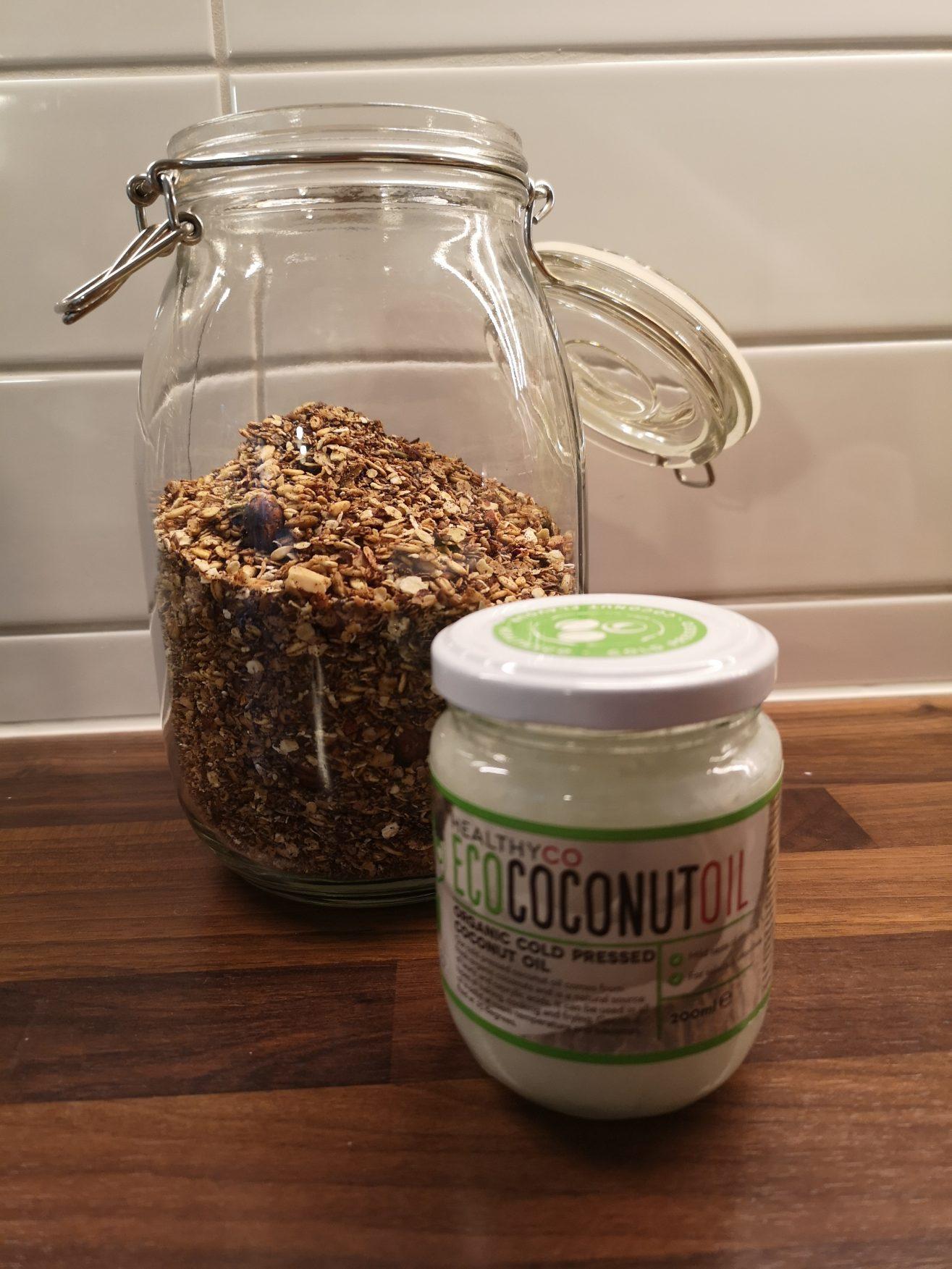 Home made granola Linn Stenholm Healthy