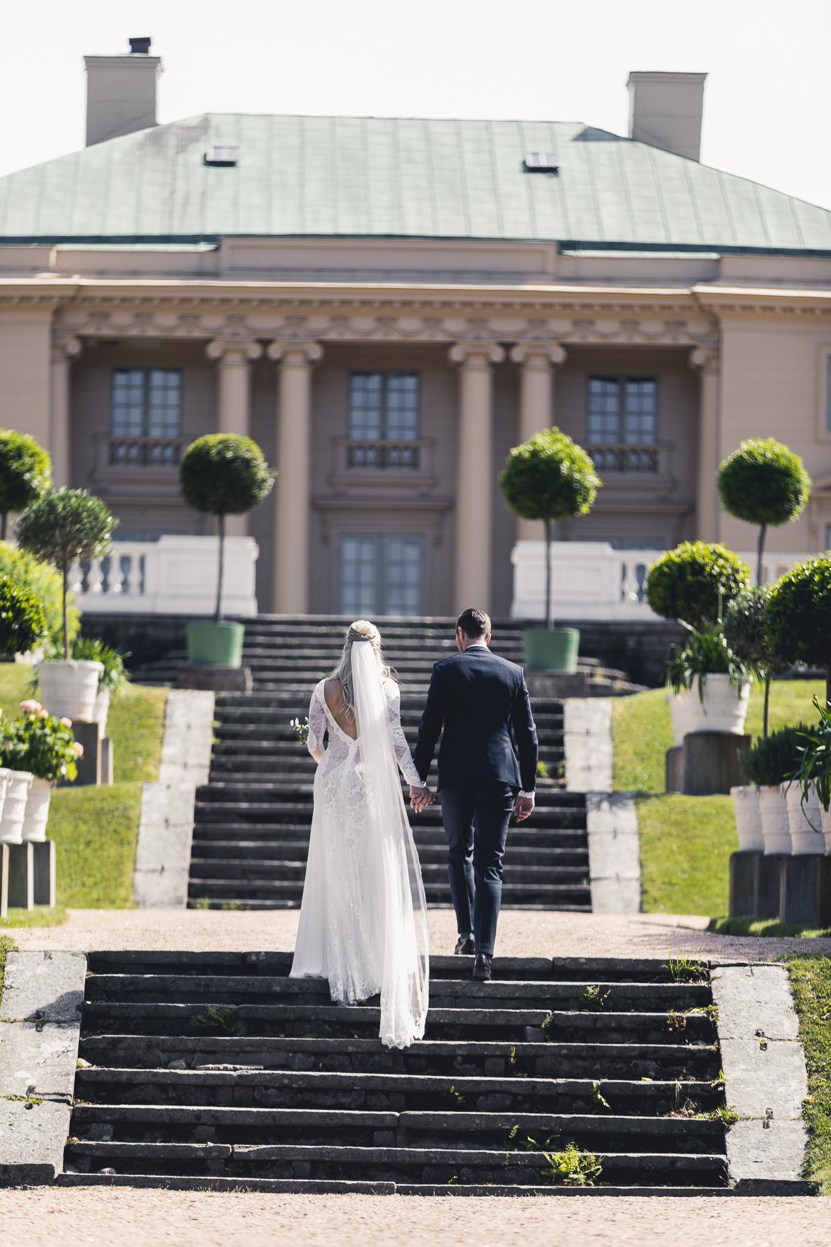 Linn Stenholm Daniel Stenholm Wedding day